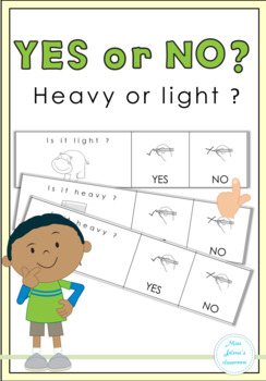 Yes or No Questions - Heavy or Light - Special Education