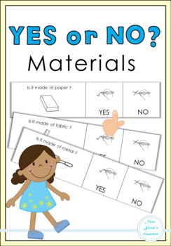 Yes or No Questions - Materials - Special Education