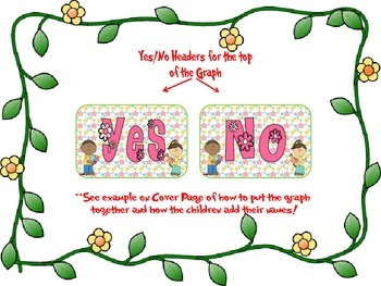 Yes/No Graph Questions about Spring, Easter, and Insects