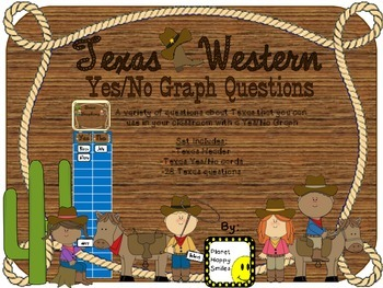 Yes/No Graph Questions about Texas (Western), Planet Happy Smiles