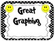 Yes/No Graph Questions in Polka Dot Print with Happy/Smiley Faces