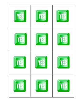 Yes/No Quick Assessment Cards