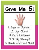 Yet Another Give Me 5 Poster
