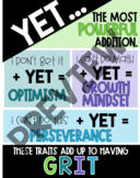 Yet and Grit Poster