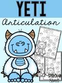 Yeti Articulation: Winter Speech Therapy