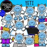 Yeti Clipart {Creative Clips Clipart}