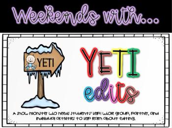 Yeti Editing