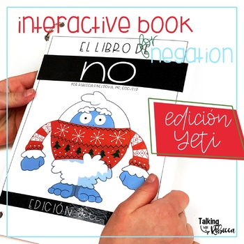 Yeti Negation Interactive Book for Spanish Speech Therapy