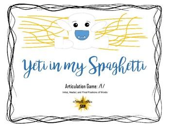 Yeti in my Spaghetti Game Companion: Articulation /f/