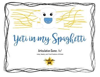 Yeti in my Spaghetti Game Companion: Articulation /v/