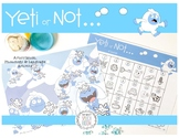 Yeti or Not: LOW PREP Speech Therapy Dough Activity