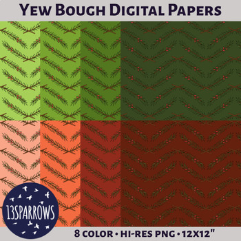 Yew Bough Digital Papers
