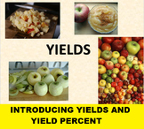 Yields Slideshow for use with Applesauce Yields Activity; Math or Culinary Arts!
