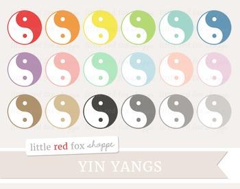 Yin Yang Clipart; Ying Yang, Symbol, Sign, Icon