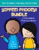 Yippee! Phooey! Bundle- Decodable Fluency Game- 1st Grade-