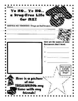 Yo Ho, Yo Ho, a Drug-Free Life for ME!