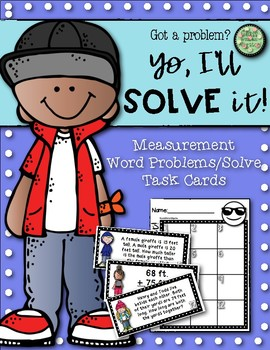 Yo, I'll Solve It! Word Problems with Measurement