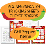 "Yo Puedo, ""I can"" tracking sheet for Spanish classes, informal assessment"