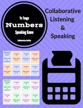 Yo Tengo: Collaborative Spanish Speaking Practice with Num