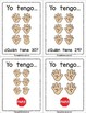 Yo Tengo, Quién Tiene Dedos de Conteo {I Have, Who Has Spanish Counting Fingers}