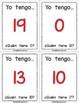 Yo Tengo, Quién Tiene Números {I Have, Who Has Numbers in Spanish }
