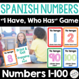 Spanish Numbers 1-100 Printable Game for Learning Los Núme
