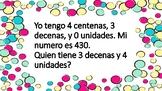 Yo Tengo Quien Tiene- Valor Posicional (I have who has- pl