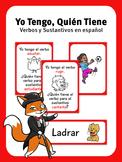 Yo Tengo, Quién Tiene - Verbos y Sustantivos - Illustrated