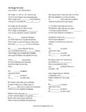 Yo Tengo Tu Love - Sie7e song lyrics cloze activity
