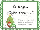Yo Tengo...Quien Tiene...? A Christmas Sight Word Game