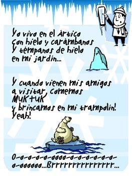 Yo Vivo en el Artico Poem/Song