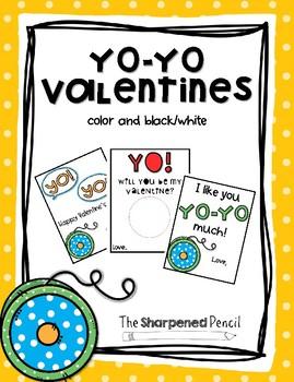 Yo-Yo Valentines {Valentines Day}
