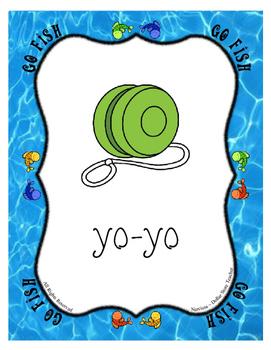Yo-Yo Yogurt ... The Letter Y Go Fish Card Game - Alphabet of the Week Activity