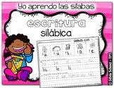Yo aprendo las sílabas - Escritura silábica