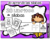Yo aprendo las sílabas - Mis libritos de las sílabas