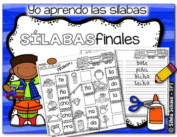 Yo aprendo las sílabas - Sílabas finales