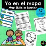 Yo en el mapa (Map Skills Unit in Spanish)