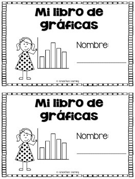 Yo puedo aprender gráficas - A Bilingual Introduction to Graphs - Spanish!