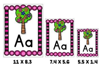 Yo puedo identificar letras y sonidos - Carteles del alfabeto