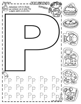 Yo puedo identificar letras y sonidos - Descubriendo sonidos