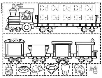 Yo puedo identificar letras y sonidos - El tren del alfabeto