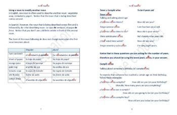 Grammar Explanations for the Spanish Classroom Volume 2
