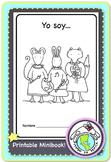 Yo soy... Adjective practice Spanish Printable Minibook