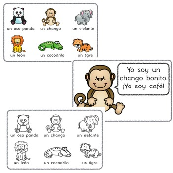 Yo soy... : A beginning Spanish workbook/reader (soy, adjectives)