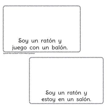 Yo soy un ratón: A beginning Spanish workbook/reader
