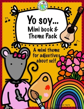 Yo soy..ACTIVITY PACK + MINIBOOK Spanish Printable Resources