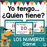 Yo tengo ¿Quién tiene? Los Numeros - Number Words Game in SPANISH