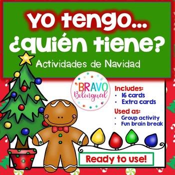 Yo tengo..¿Quién tiene.....? Navidad / I have who has..