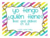 Yo tengo, ¿Quién tiene? game for Spanish 1 Likes and Disli