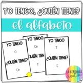Yo tengo, ¿Quién tiene? game for Spanish Alfabeto